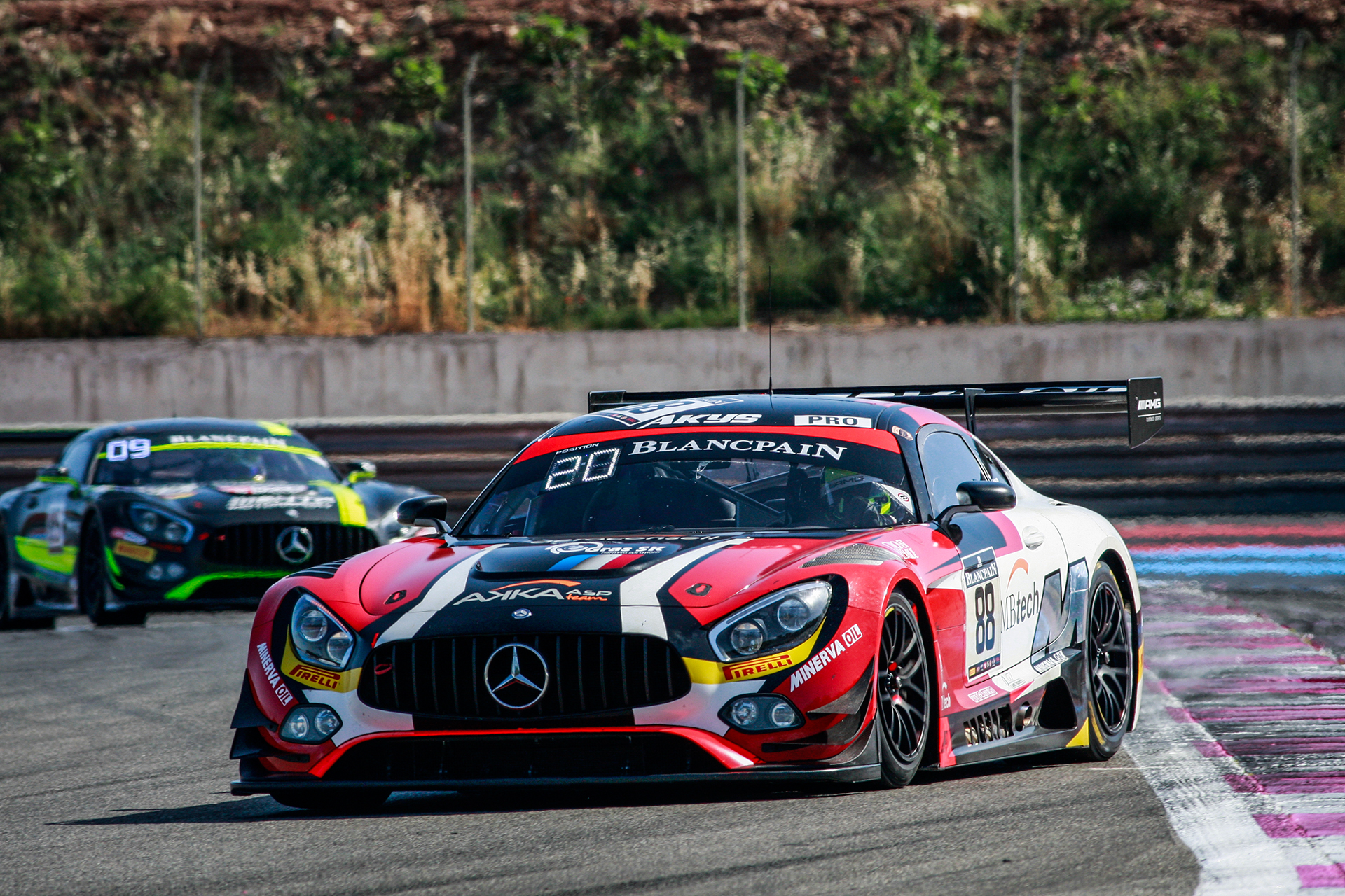 Strong performance by Renger in Blancpain Series (NL)